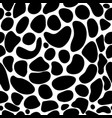 abstract pattern background with spots drops vector image vector image