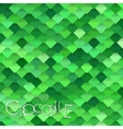 Bright Green Crocodile Scales vector image