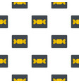 candy in yellow wrap pattern flat vector image vector image