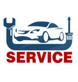 car service business vector image vector image
