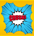 comic book page explosive concept vector image vector image