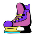 ice hockey skates icon icon cartoon vector image vector image