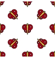 Insects flat icons pattern vector image vector image