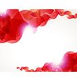 Red petals vector image