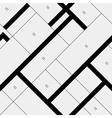 Seamless pattern diagonal polygonal rectangular vector image
