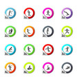shapes sports icons set vector image