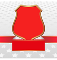 white and red background with stars and vintage vector image vector image