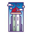 church tower vector image