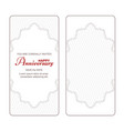 A set of two vintage vertical banners for an
