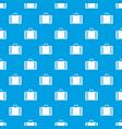 diplomat pattern seamless blue vector image vector image
