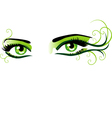 Eyes green vector | Price: 1 Credit (USD $1)
