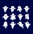 ghost halloween spooky phantom scary spirits vector image vector image