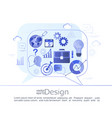 infographic concept of business consulting vector image