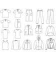 Man clothes collection vector | Price: 1 Credit (USD $1)