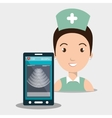 nurse tools service kit vector image vector image