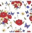 summer vintage floral seamless pattern vector image