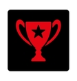 Trophy icon from Award Buttons OverColor Set vector image