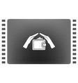wallet and hands web icon design vector image vector image