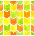 Watercolor arrows pattern vector image vector image