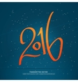 Year of fire monkey Lettering vector image vector image