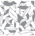 Abstract leaf seamless pattern vector image vector image