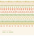 Abstract Stripes Horizontal Seamless Pattern vector image vector image