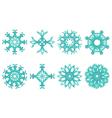 Flower motif vector image vector image