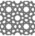 islamic pattern on white vector image vector image