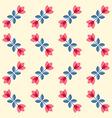 Scandinavian flowers - semaless tulips pattern vector image