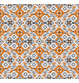 seamless geometric tribal ethnic pattern vector image vector image