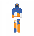 Winter Sport Suit vector image vector image