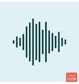 Sound wave icon vector image