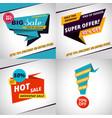 set of sales bannes template design vector image