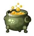 detailed icon magician potion vector image vector image