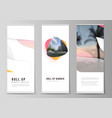 editable layout roll vector image