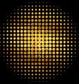gold mosaic abstract vector image vector image
