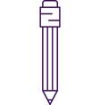 pencil icon pen flat graphic symbol vector image
