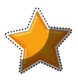 star space isolated icon vector image