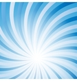 Blue abstract hypnotic background vector image vector image