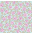 Floral seamless pattern with roses vector image vector image