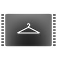 hanger flat icon vector image
