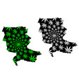 jizzakh region republic uzbekistan regions of vector image vector image
