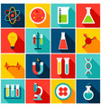 medical science colorful icons vector image