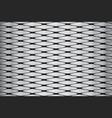 metallic geometric pattern vector image vector image