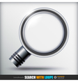 Search With Loupe Icons set vector image