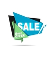 Special offer sale banner Discount price label vector image vector image
