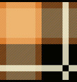 tartan seamless pattern background black and vector image vector image