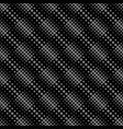 circle pattern background - monochrome abstract vector image vector image