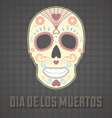 Day of the dead card and wallpaper vector | Price: 1 Credit (USD $1)