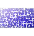 Abstract deep blue gradient lowploly of vector image vector image